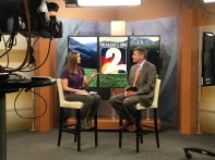 Chatting with Tom Green about my passion for animal photography. He shared some great photos that he took of animals at the zoo.